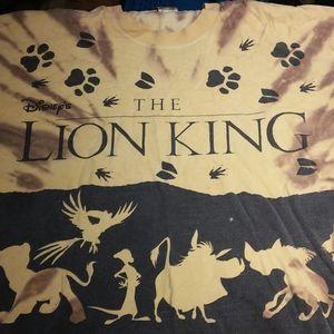 Rare Vintage 1990's Tye-Dye Lion King XL T-Shirt